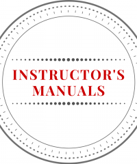 Instructor's Manuals