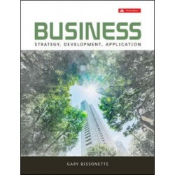 eBook - Business: Strategy, Development, Application - 3rd Canadian Edition