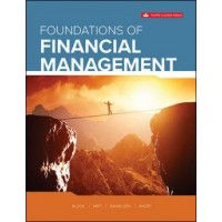 eBook - Foundations Of Financial Management - 12th Canadian Edition