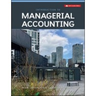 eBook - Introduction To Managerial Accounting - 6th Canadian Edition