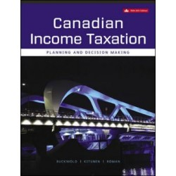 Solutions Manual - Canadian Income Taxation, 2020/2021 - 23rd Canadian Edition