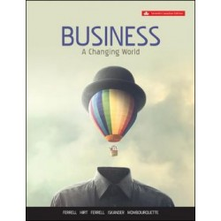 eBook - Business: A Changing World - 7th Canadian Edition