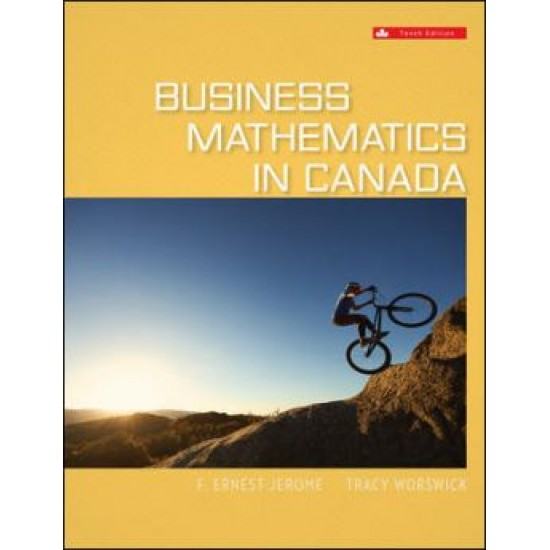eBook - Business Mathematics In Canada - 10th Canadian Edition