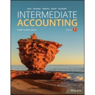 eBook - Intermediate Accounting, Volume 1 - 12th Canadian Edition