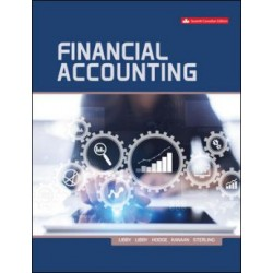 Test Bank -  Financial Accounting - 7th Canadian Edition