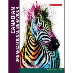 eBook - Canadian Organizational Behaviour - 10th Canadian Edition