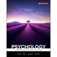 eBook - Psychology: Frontiers And Applications - 7th Canadian Edition