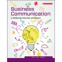 Test Bank - Business Communication: A Problem Solving Approach - 1st Canadian Edition