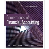 Test Bank - Cornerstones of Financial Accounting - 3rd Canadian Edition