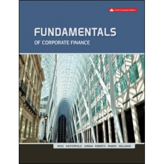 Solutions Manual - Fundamentals Of Corporate Finance - 10th Canadian Edition