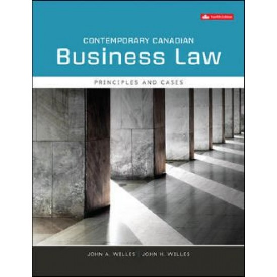 Instructor's Manual - Contemporary Canadian Business Law - 12th Canadian Edition
